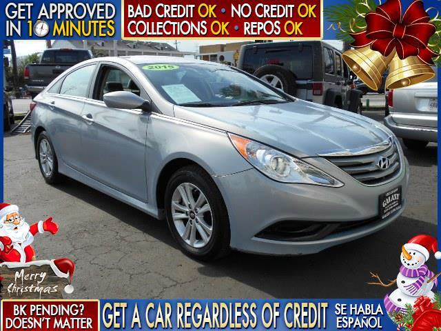 2014 HYUNDAI SONATA GLS blue  welcome take a test drive or call us if you have any questions