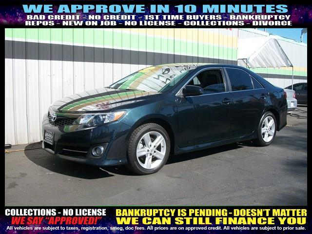 2012 TOYOTA CAMRY blue welcome take a test drive or call us if you have any questions you won