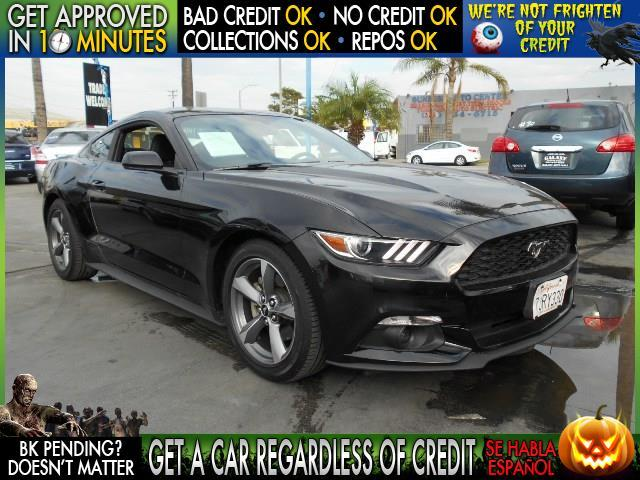 2015 FORD MUSTANG V6 2DR FASTBACK black  welcome take a test drive or call us if you have any