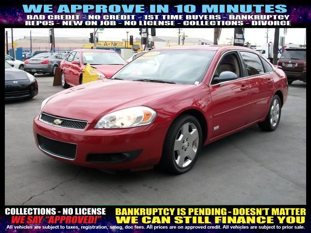 2007 CHEVROLET IMPALA SS 4DR SEDAN red  welcome take a test drive or call us if you have any q