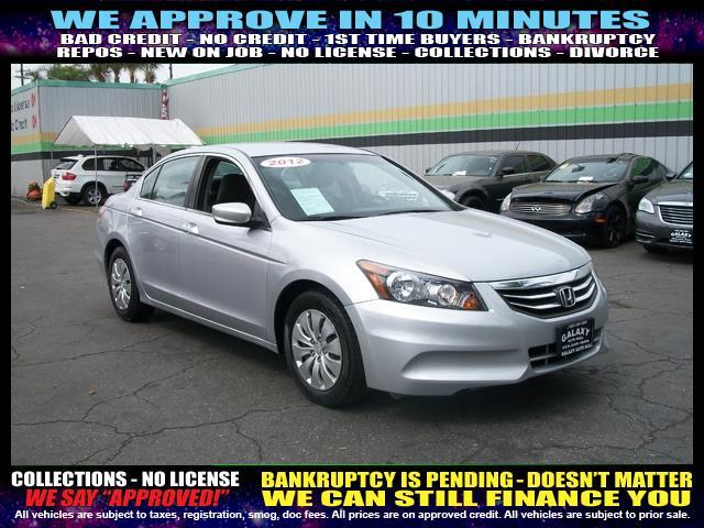 2012 HONDA ACCORD LX 4DR SEDAN 5A silver  welcome take a test drive or call us if you have any