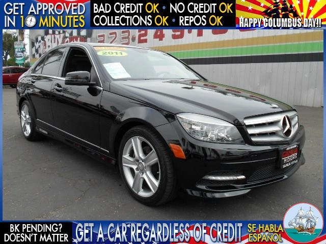 2011 MERCEDES-BENZ C-CLASS C300 SPORT 4DR SEDAN black  welcome take a test drive or call us if