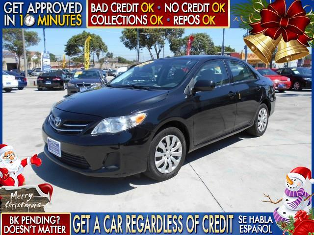 2013 TOYOTA COROLLA LE 4DR SEDAN 4A black  welcome take a test drive or call us if you have an
