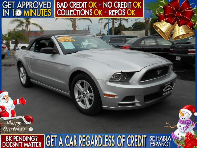 2014 FORD MUSTANG silver  welcome take a test drive or call us if you have any questions you