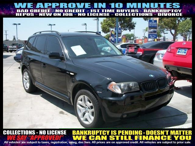 2006 BMW X3 30I AWD 4DR SUV black welcome take a test drive or call us if you have any quest