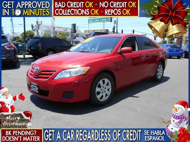 2011 TOYOTA CAMRY LE 4DR SEDAN 6A red  welcome take a test drive or call us if you have any qu