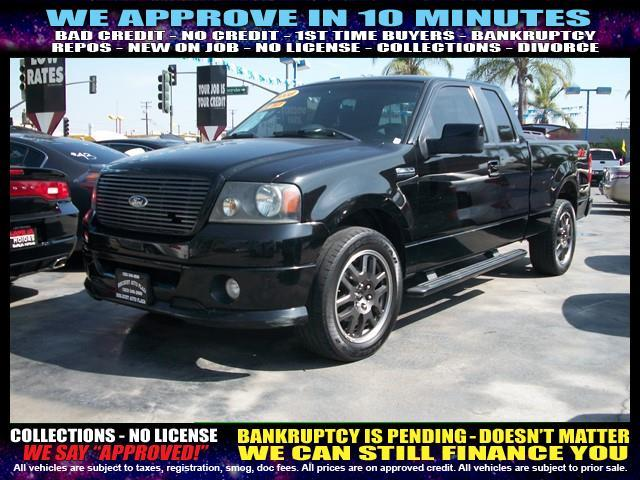2008 FORD F-150 black welcome take a test drive or call us if you have any questions you wont
