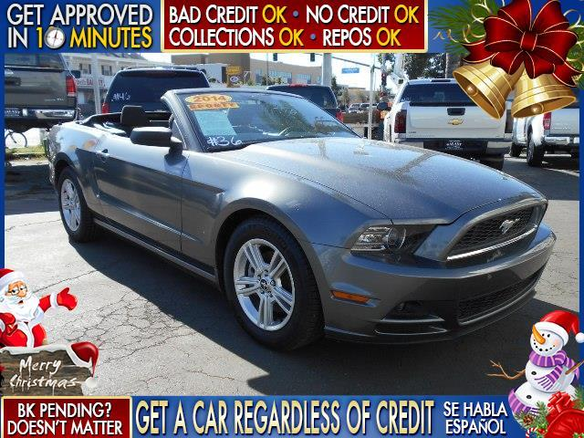 2014 FORD MUSTANG gray  welcome take a test drive or call us if you have any questions you w