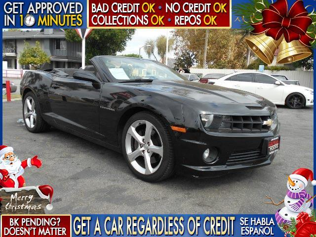 2013 CHEVROLET CAMARO SS 2DR CONVERTIBLE W2SS black  welcome take a test drive or call us if