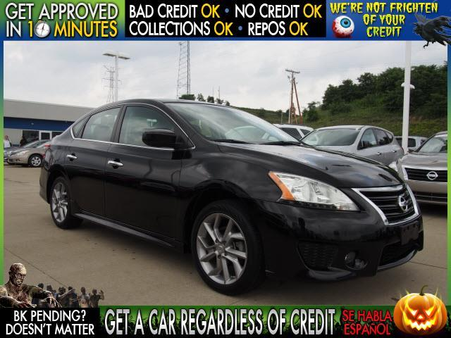 2013 NISSAN SENTRA black  welcome take a test drive or call us if you have any questions you
