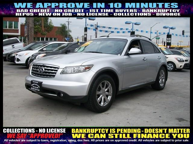 2008 INFINITI FX35 BASE 4DR SUV silver  welcome take a test drive or call us if you have any q