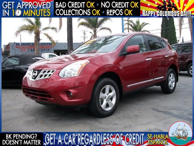 2013 NISSAN ROGUE S 4DR CROSSOVER red  welcome take a test drive or call us if you have any qu