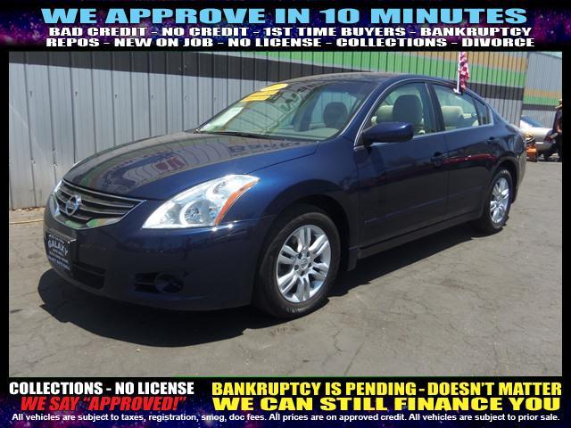 2011 NISSAN ALTIMA blue  welcome take a test drive or call us if you have any questions you