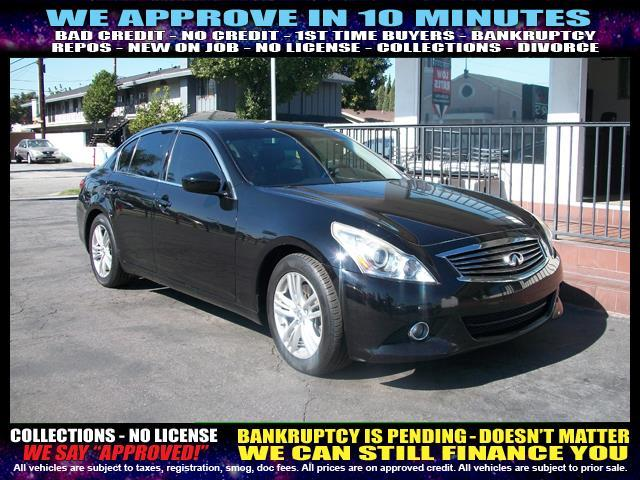 2010 INFINITI G37 SEDAN black welcome take a test drive or call us if you have any questions