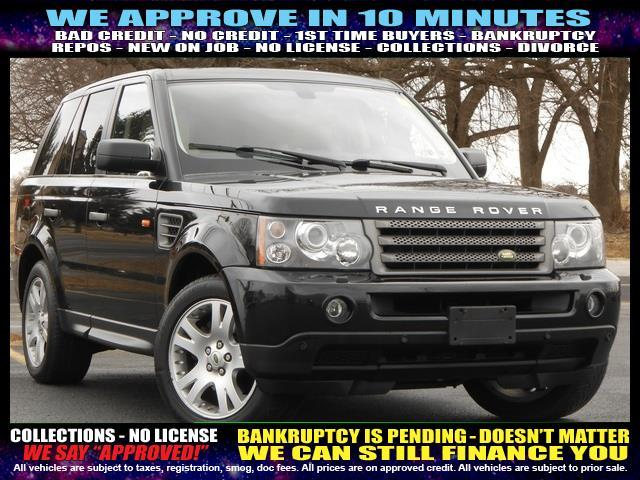 2006 LAND ROVER RANGE ROVER SPORT HSE 4DR SUV 4WD silver welcome take a test drive or call us