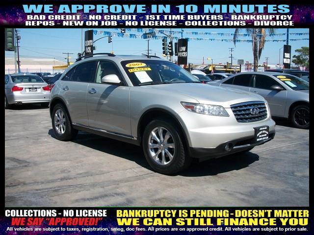 2007 INFINITI FX35 BASE AWD 4DR SUV silver welcome take a test drive or call us if you have any