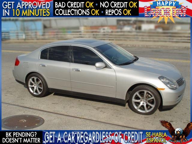 2003 INFINITI G35 BASE LUXURY 4DR SEDAN WLEATHER silver  welcome take a test drive or call us