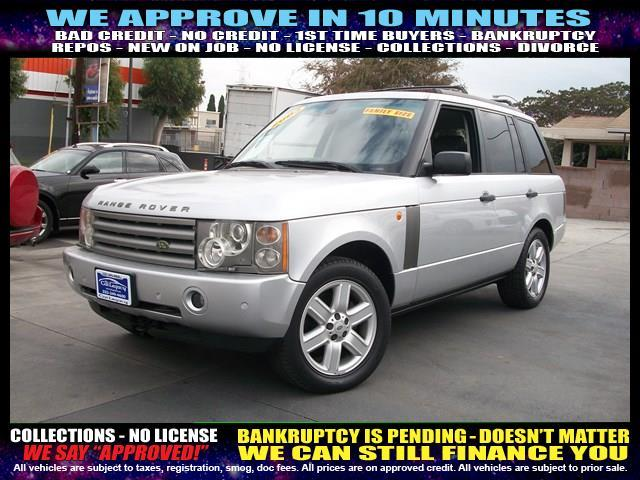 2003 LAND ROVER RANGE ROVER HSE 4WD 4DR SUV silver welcome take a test drive or call us if you