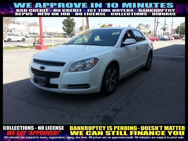 2012 CHEVROLET MALIBU LT 4DR SEDAN W1LT white  welcome take a test drive or call us if you ha