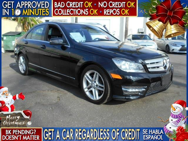 2013 MERCEDES-BENZ C-CLASS C350 SPORT 4DR SEDAN black  welcome take a test drive or call us if