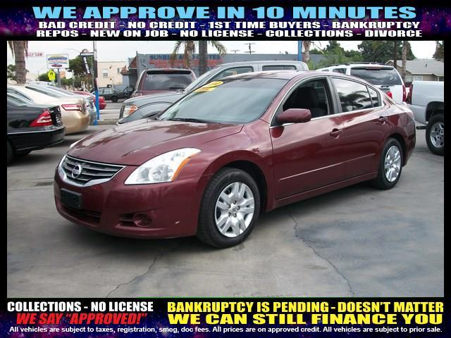 2010 NISSAN ALTIMA red welcome take a test drive or call us if you have any questions you won