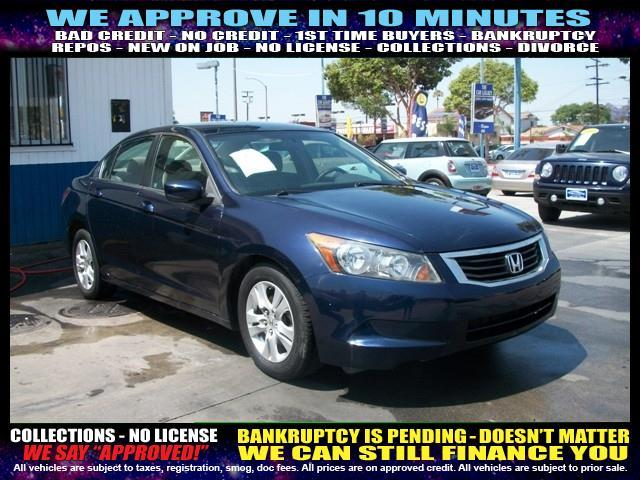 2009 HONDA ACCORD LX-P 4DR SEDAN blue  welcome take a test drive or call us if you have any qu
