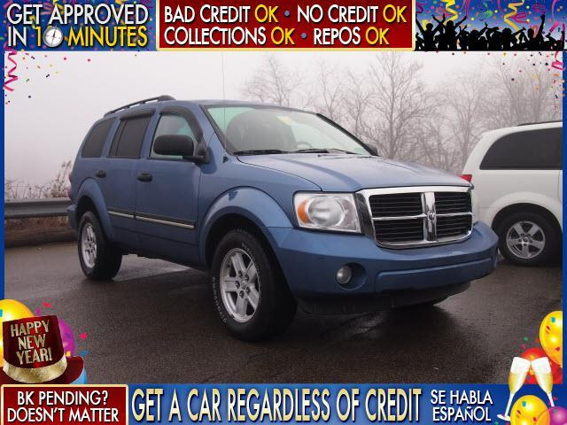 2007 DODGE DURANGO SXT 4DR SUV 4WD blue  welcome take a test drive or call us if you have any