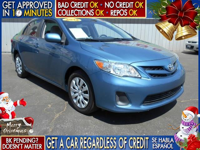 2012 TOYOTA COROLLA LE 4DR SEDAN 4A blue  welcome take a test drive or call us if you have any