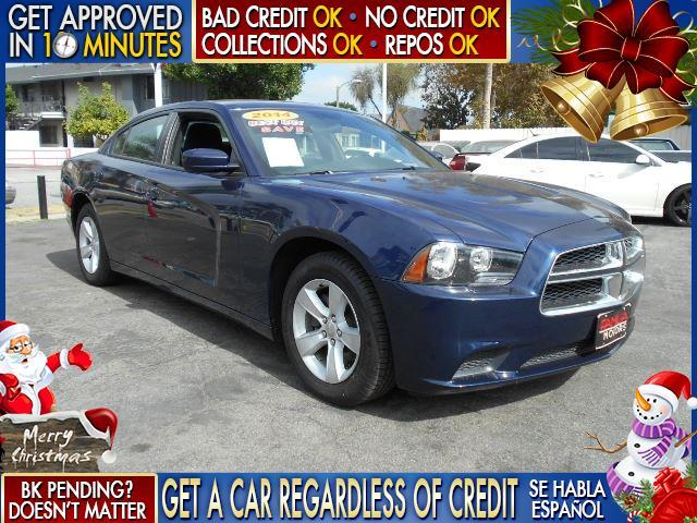 2014 DODGE CHARGER SE 4DR SEDAN blue  welcome take a test drive or call us if you have any que