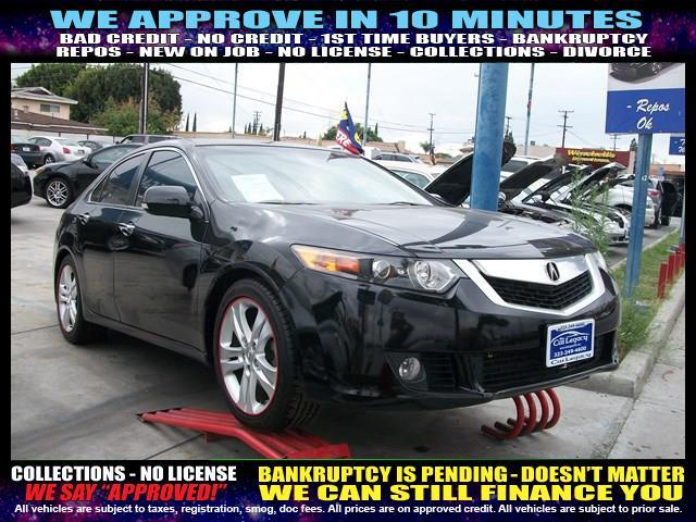 2010 ACURA TSX V-6 4DR SEDAN black  welcome take a test drive or call us if you have any quest