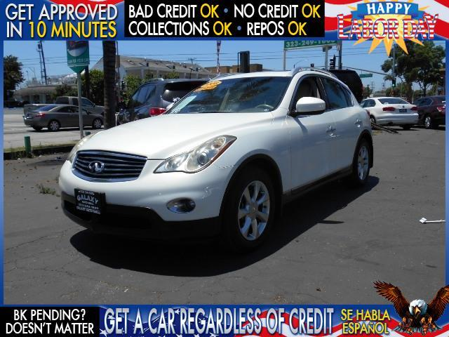 2008 INFINITI EX35 JOURNEY 4DR CROSSOVER white  welcome take a test drive or call us if you ha