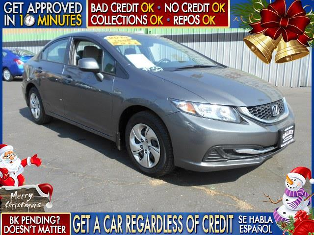 2013 HONDA CIVIC LX 4DR SEDAN 5A charcoal  welcome take a test drive or call us if you have an