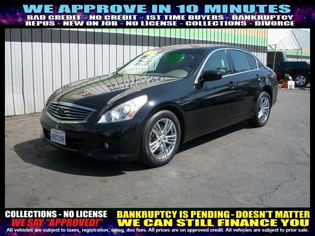 2011 INFINITI G25 SEDAN black welcome take a test drive or call us if you have any questions