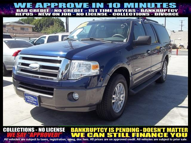 2007 FORD EXPEDITION EL black welcome take a test drive or call us if you have any questions