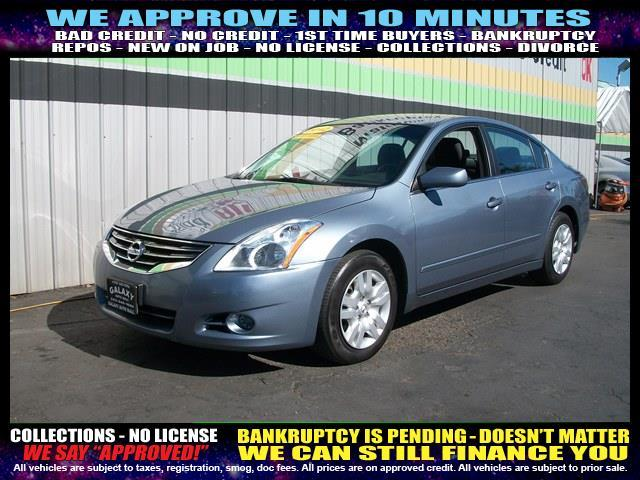 2012 NISSAN ALTIMA blue  welcome take a test drive or call us if you have any questions you