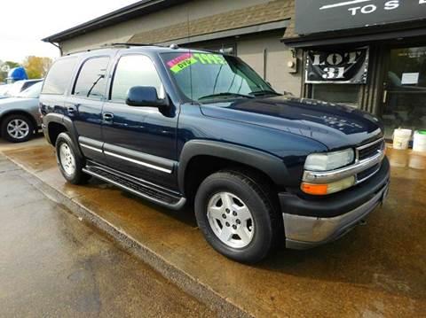2004 Chevrolet Tahoe for sale in Kenosha, WI
