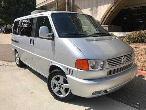 2003 Volkswagen EuroVan for sale in San Diego, CA