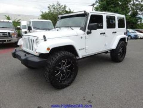 2013 Jeep Wrangler Unlimited for sale in Southampton, NJ