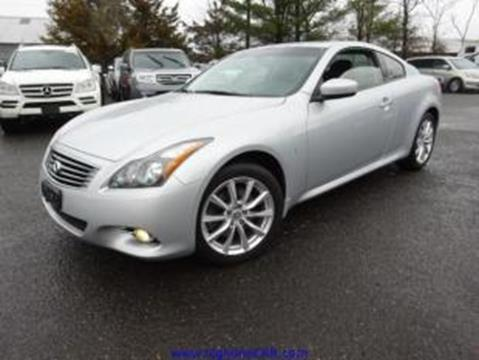 2014 Infiniti Q60 Coupe for sale in Southampton, NJ
