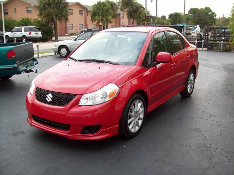 2008 Suzuki SX4 Sport 4dr Sedan 4A w/Convenience Package - Fort Myers FL