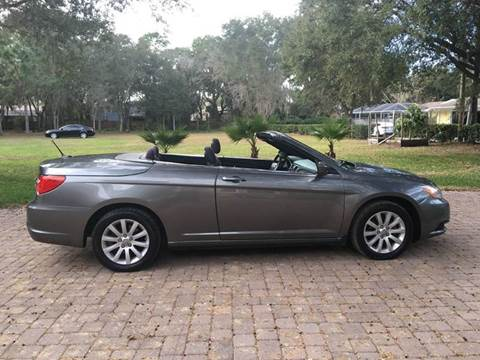 2013 Chrysler 200 Convertible for sale in Tampa, FL