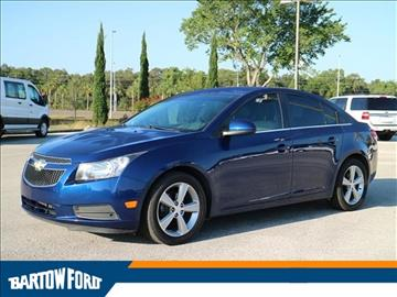 Used Chevrolet Cruze For Sale Bartow Fl Carsforsale Com