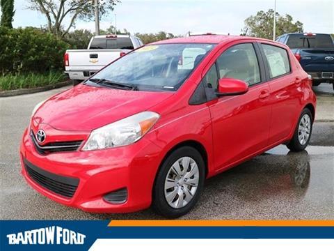 2013 Toyota Yaris for sale in Bartow, FL