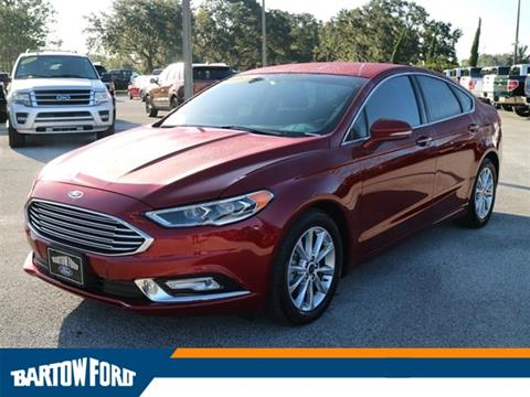 2017 Ford Fusion for sale in Bartow, FL