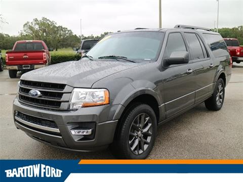 2017 Ford Expedition EL for sale in Bartow, FL