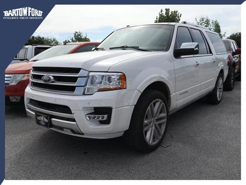 2016 Ford Expedition EL for sale in Bartow, FL
