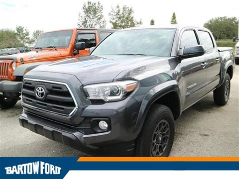 2017 Toyota Tacoma for sale in Bartow, FL