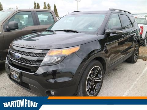 2015 Ford Explorer for sale in Bartow, FL