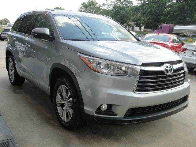 2015 Toyota Highlander XLE AWD 4dr SUV - Madison NC