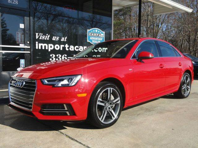 2017 audi a4 2 0t quattro premium plus awd 4dr sedan 7a in madison nc importacar. Black Bedroom Furniture Sets. Home Design Ideas